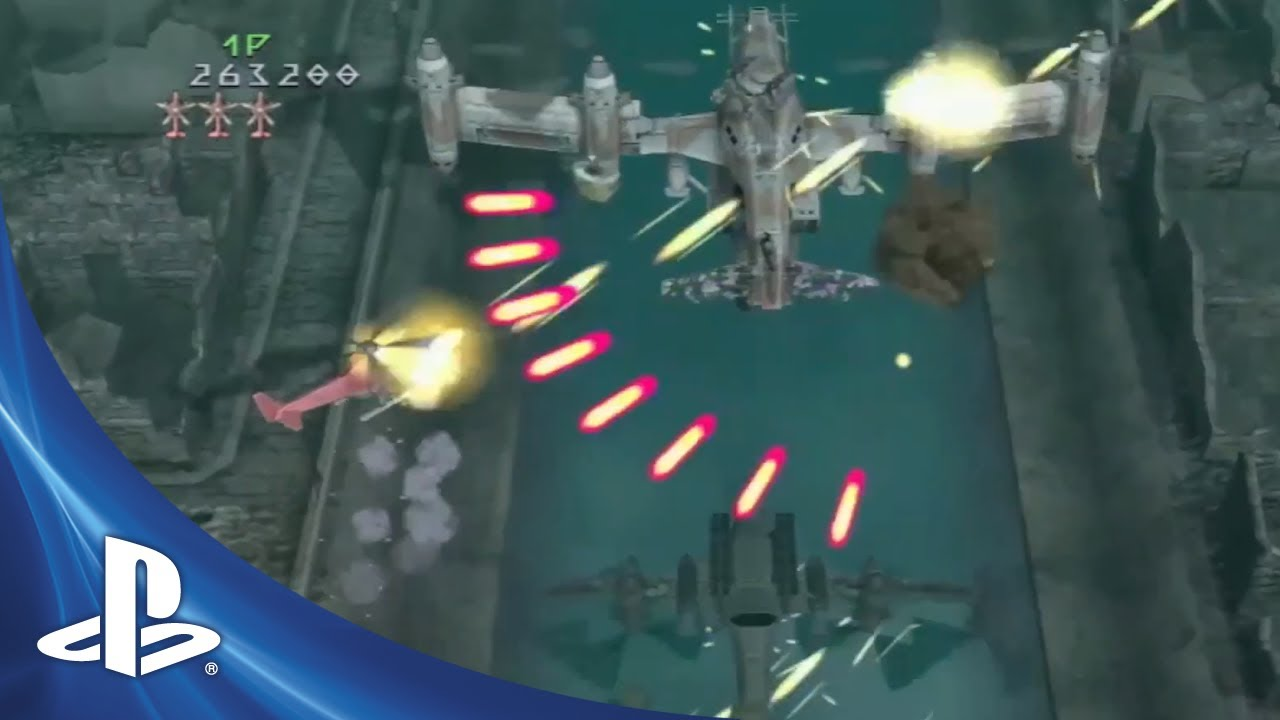 Under Defeat HD Shoots 'Em Up This Fall on PS3
