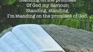 Standing on the Promises ~ WordHarmonic ~ lyric video