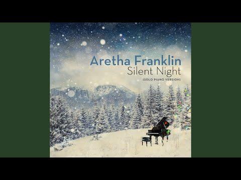 Aretha Franklin Silent Night Solo Piano Version