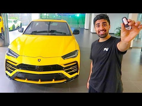 DELIVERY OF THE NEW 4X4 LAMBORGHINI URUS IN DUBAI ..