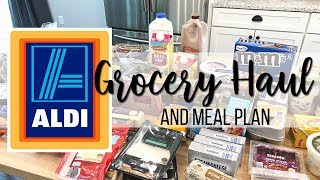 $150 Aldi Grocery Haul & Meal Plan // Family of 4 // Keto Friendly for the Adults!