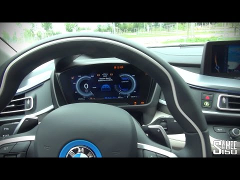 BMW i8 Interior Display