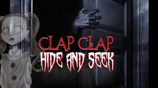 (SHE WINS) DONT PLAY CLAP CLAP HIDE AND SEEK WITH A GHOST| CLAP CLAP HIDE AND SEEK WITH GHOST GIRL