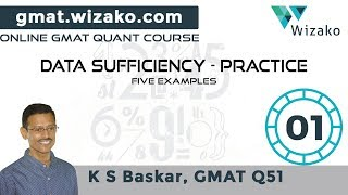 GMAT Data Sufficiency Practice Questions   DS Tutorials   5 GMAT Sample Questions