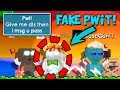 Growtopia | FAKE Pwit SCAMMED OVER 400 DLS!! PROOF! ⚠️Beware⚠️