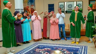 شوفو كيفاش تم استقبال لالة حادة و رباعتها بمدينة مراكش