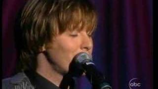 Clay Aiken sings 'Without You' on The View