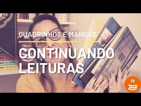 Leituras do Mês | FEVEREIRO | Quadrinhos e Mangás | Pilha de Leitura