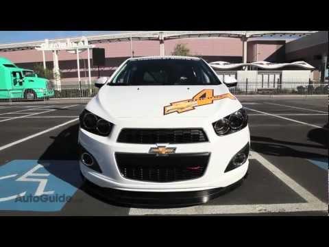 Chevrolet Sonic Super 4 Concept - SEMA Show 2011