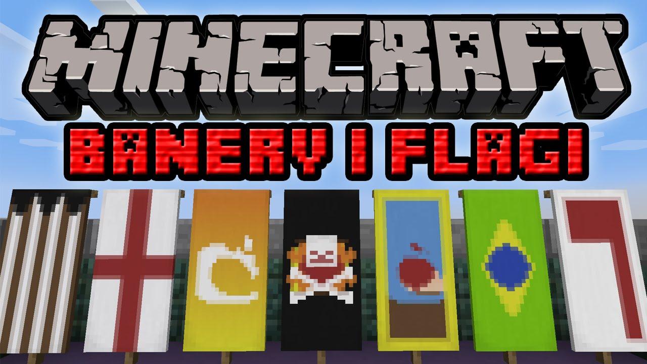 Video Minecraft 1 8 Banery I Flagi Jak Tworzyc I Wykorzystac