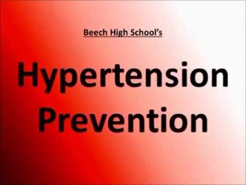 Lhypertension artérielle ont hypotensive