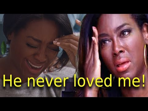 RHOA Kenya Moore divorce husband Marc because he has another girlfriend & children besides Brooklyn!