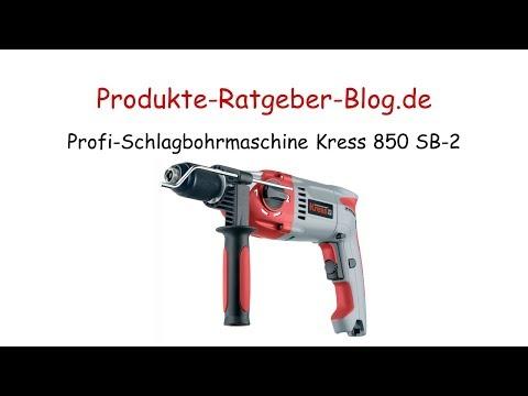 Test Profi-Schlagbohrmaschine Kress 850 SB 2