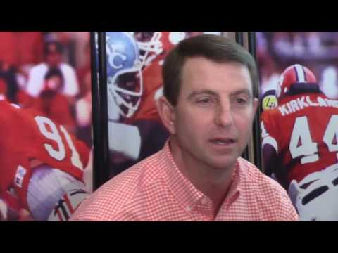 TigerNet.com - Dabo Swinney Clemson media day - 12.19.2016