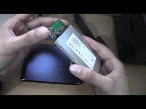 ¿Como es un disco duro externo (super resistente) por dentro?