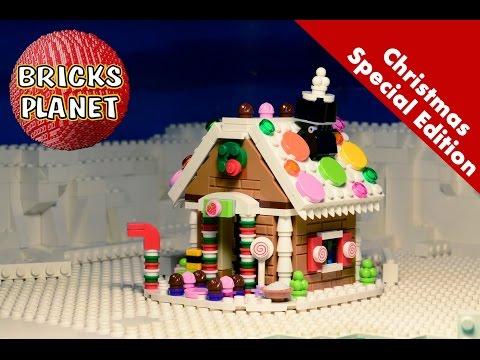Vidéo LEGO Saisonnier 40139 : La maison en pain d'épice