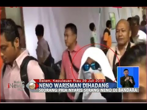 Neno Warisman Dihadang dan Nyaris Diserang di Bandara Batam - BIS 29/07