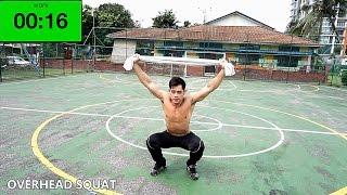 【脂肪燃焼&体力UP】今週の3分間サーキットトレーニングはコレ!