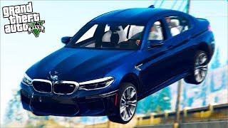 РЕАЛЬНАЯ ЖИЗНЬ В GTA 5 - УПАЛИ С МОСТА НА НОВОЙ BMW M5! ЭТО КОНЕЦ!? 🌊ВОТЕР