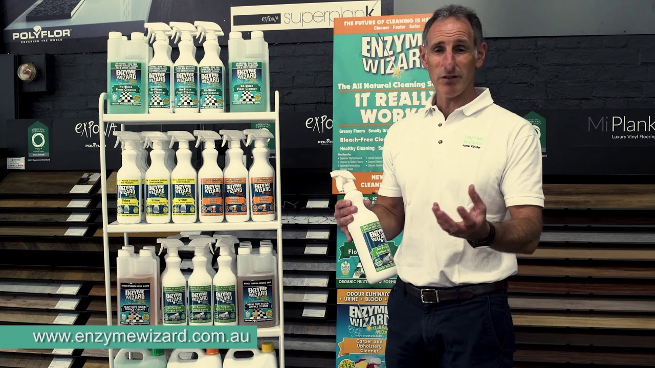 Enzyme Wizard Cleaning – All Purpose Surface Spray Training Video