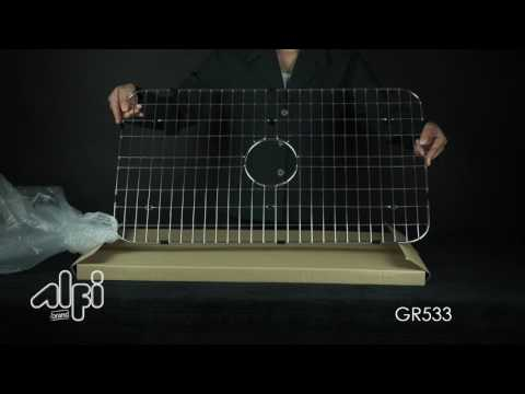 Video for Stainless Steel Protective Grid for Kitchen Sinks