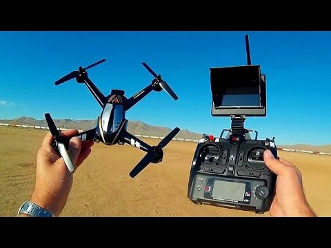 XK X252 5.8 Ghz FPV 3D Acro Sport Drone Flight Test Review
