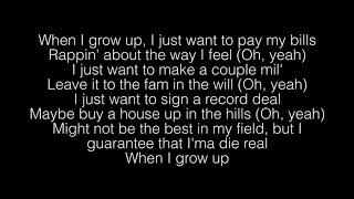 NF  When I Grow Up Lyrics