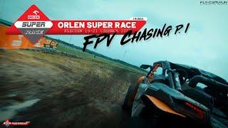ORLEN Super Race - Runda I / Kleczew. FPV chasing part. I