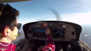 Flying date to Provincetown, Cape Cod- DA-40: BIG Crosswind Landing