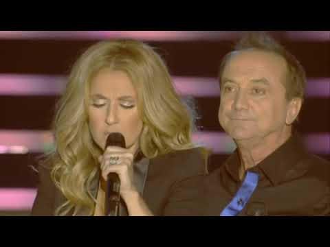 Céline DION & Claude DUBOIS/ Si Dieu existe (Live in Quebec 2008)
