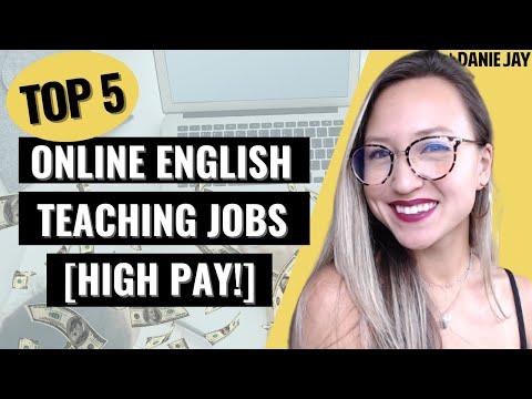 BEST Online English Teaching Jobs for Beginners w/ Highest Pay 2021   Home Based ESL Jobs