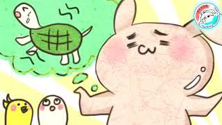 【唱歌學日文】龜兔賽跑/【うさぎとかめ】#15