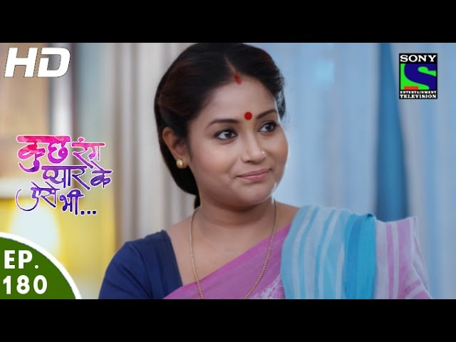 Kuch Rang Pyar Ke Aise Bhi – 7th Nov 2016 – Episode 180 – Full Episode