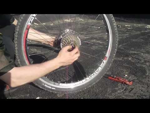 Задняя втулка колеса велосипеда, как разобрать, обслуживание
