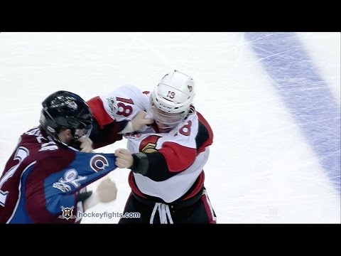 Ryan Dzingel vs Gabriel Landeskog