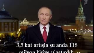 Putin'in Yılbaşı Konuşması Türkçe Altyazılı Söyledikleri Rusyada Şok Etkisi Yarattı