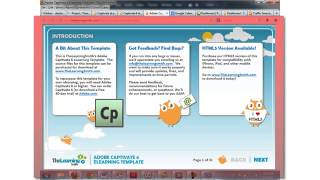Creating a New Project in Adobe Captivate 7