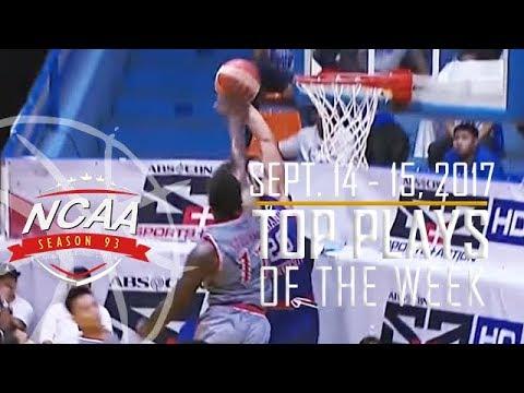 Top 10 Plays | September 14-15 | NCAA 93 Men's Basketball