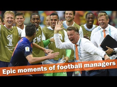Epic moments of football managers ● Crazy Reactions, Celebration ● HD