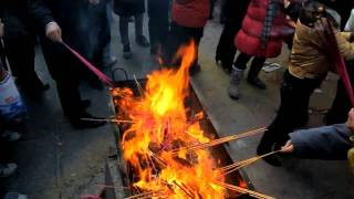 Video : China : Chinese New Year at YongHeGong 雍和宫 Lama Temple, BeiJing