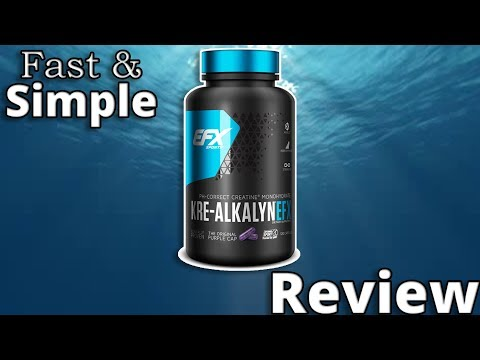Kre-Alkalyn Creatine Supplement Review