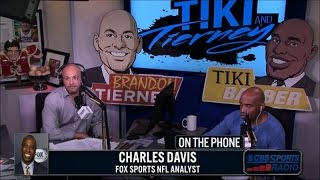 Charles Davis joins Tiki and Tierney