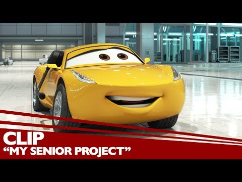 Cars 3 (Clip 'My Senior Project')