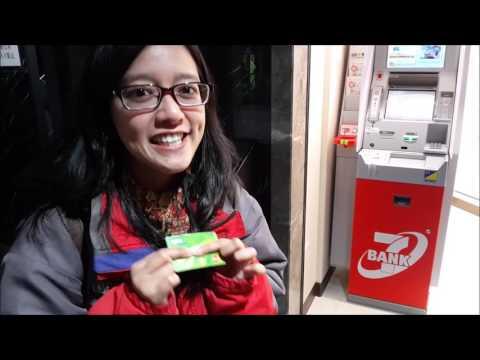 Cara ambil uang di jepang dengan ATM Mandiri dan BRI #Vlog 8