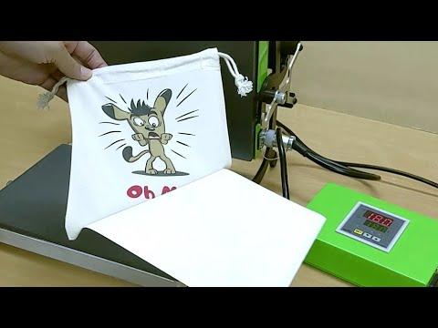 How to do heat transfer printing without complex software