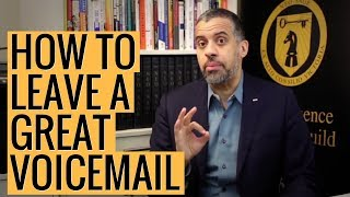 How to Leave a Great Voicemail