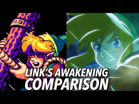 The Link's Awakening Remake Is A Complete Graphical Overhaul