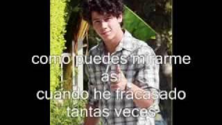 wrong again nick jonas - traducido al español