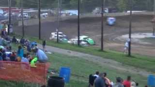 preview picture of video '250 Speedway Modified Make-Up Feature 6-27-2014'