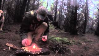 Making Fire in Extreme Wet Conditions